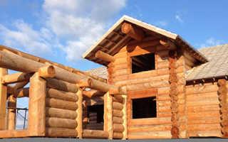 Каркасно бревенчатые дома: эксплуатационные преимущества