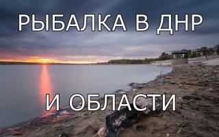 Подводная охота в Донецкой области: видео и фото