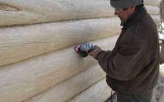 Можно ли шлифовать сруб зимой – рекомендации специалистов
