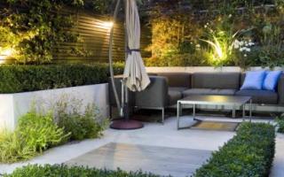 Обустраиваем сад в стиле минимализм: порядок составление дизайн-проекта