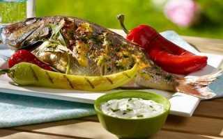 Карп на мангале: запекание на углях и вкусный шашлык из рыбы
