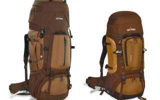 Pюкзак для похода: типы рюкзаков, объем, рекомендации по выбору