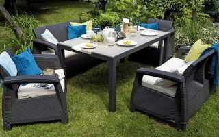 Садовая мебель из ротанга: 100+ фото красивого дизайна