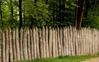 Как сделать забор из частокола своими руками?