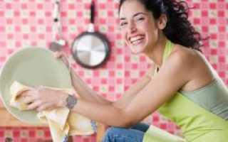 Чем мыть посуду в посудомоечной машине народными средствами
