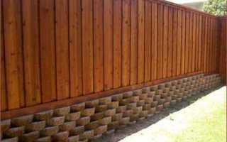 Забор из вагонки своими руками: фото варианты