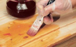 Масло для пропитки дерева: отработанное, подсолнечное, трансформаторное, как пропитать своими руками