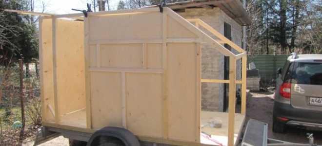 Прицеп-дача своими руками (39 фото): особенности двухосных конструкций, до 750 кг, ремонт, фото и видео