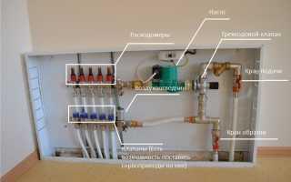Водяной теплый пол: заполнение, проверка-опрессовка, пуск и слив