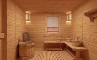 Моечная в бане (+фото)