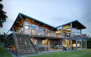 Дома с плоской крышей — 100 фото лучших вариантов конструкции и современного дизайна