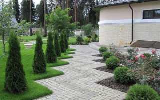 Дорожки на участке загородного дома: фото и видео, планировка и схема расположения, как проложить