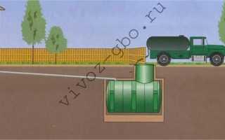 Выгребная яма:санитарные нормы размещения,требования,СанПин,СНиП