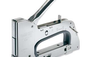 Как пользоваться строительным мебельным степлером?
