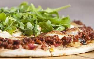 Лучшие рецепты пиццы с фаршем в домашних условиях