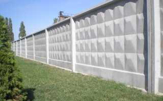 Самостоящий железобетонный забор, установка бетонной ограды своими руками: инструкция, фото и видео-уроки, цена