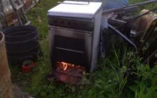 Что можно сделать из старой газовой плиты — коптильня и другие идеи