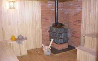13 этапов установки металлической печи в баню (+14 ФОТО)