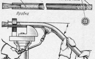 Гибка труб по радиусу – рассчитаем минимальный радиус сгиба и радиус инерции труб, методы гибки