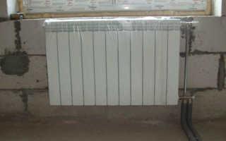 Алюминиевые радиаторы отопления — устройство батареи и способы монтажа