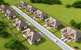Требования СНиП к расстоянию между частными домами