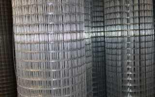 Сварная оцинкованная сетка для забора в Москве: цены, доставка