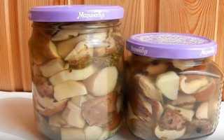 Маринованные шампиньоны — 7 рецептов приготовления на зиму