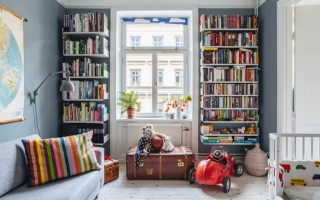 Книжные полки: 75 лучших вариантов для разного интерьера