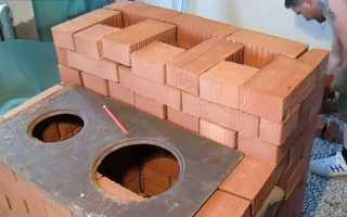 Кирпичная печь для дома своими руками: пошаговая инструкция с фото