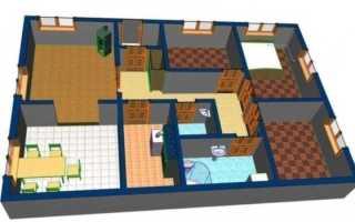 Планировка одноэтажного дома (119 фото): лучшие проекты дома с тремя спальнями размером 8 на 9