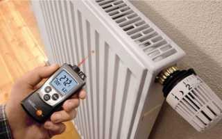 Температурный график отопления в жилом доме