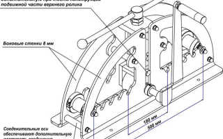 Как сделать трубогиб для профильной трубы своими руками