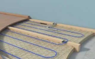 Положить водяной теплый пол по деревянному полу