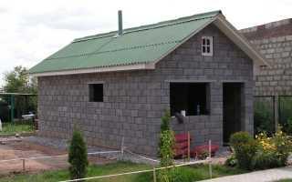 Баня из керамзитных блоков: инструкция, технология постройки