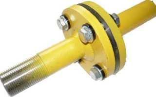 Фланцевое соединение стальных труб: виды и монтаж