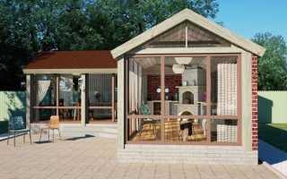 Закрытая беседка с мангалом (48 фото): теплая зимняя конструкция, утепленный вариант строения крытого типа с