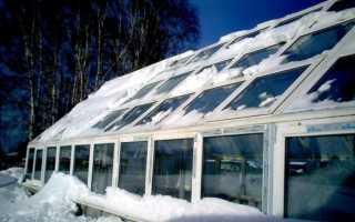 Как построить теплицу для зимнего выращивания своими руками?