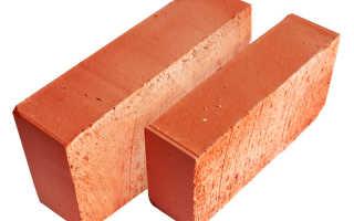 Размеры печного кирпича: красный, печной, шамотный, стандартный