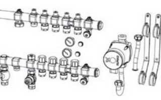 Как подключить коллектор теплого пола — 7 ошибок и автоматическое регулировка температуры