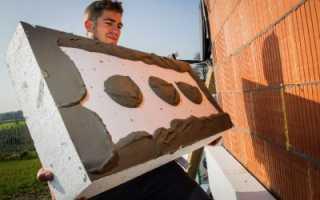 Утепление фасада пенопластом своими руками: технология, фото, видео
