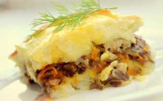 Картофельная запеканка с грибами — 8 вкусных рецептов приготовления в духовке, мультиварке
