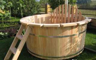 Строительство японской бани фурако и офуро