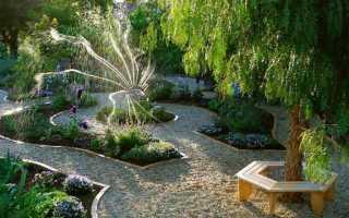 Как построить круглую скамейку и стол для сада вокруг дерева