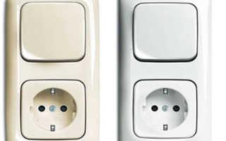 Розетка с выключателем в одном корпусе: как лучше подключить