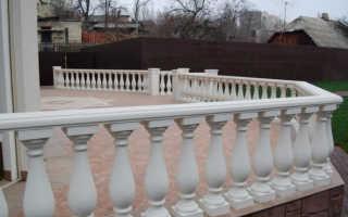 Балясины из бетона своими руками (фото)