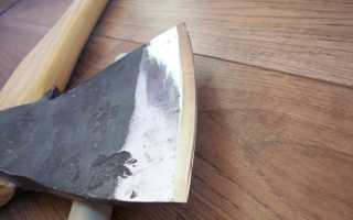 Как сделать топор своими руками — выбор заготовки и правильная заточка топора