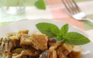 Как приготовить баклажаны с грибами в сметане — простой и быстрый рецепт