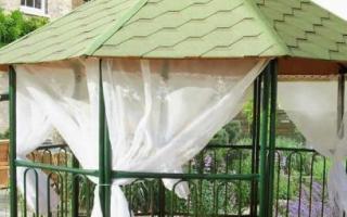 Шторы для беседок и веранд: особенности уличных занавесок, варианты для декора и защиты