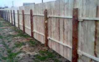 Столбы для деревянных заборов: какие подойдут, как изготовить своими руками столбы из дерева