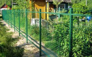 Сетка для забора (58 фото): сетчатые металлические и пластиковые ограждения, секционные затеняющие конструкции